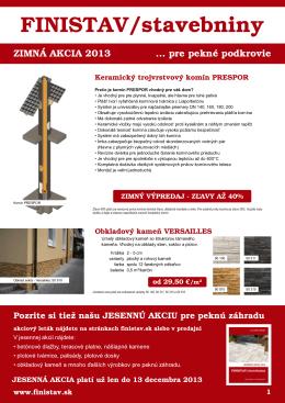 FINISTAV/stavebniny
