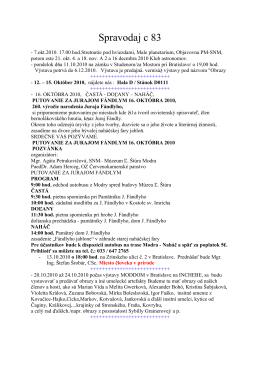 Spravodaj c 83 - szcpv