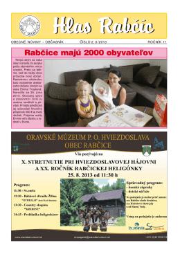 Obecné noviny 2-3/2013