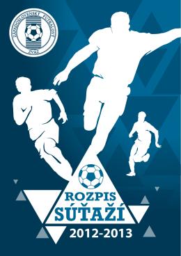 Rozpis zápasov v sezóne 2012/2013