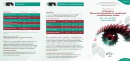IV. kongres Slovenskej glaukómovej spoločnosti s