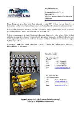 Compotec hydraulics 2014-SK