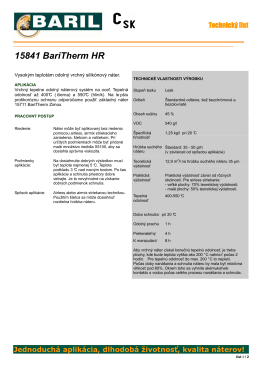 15841 BariTherm HR