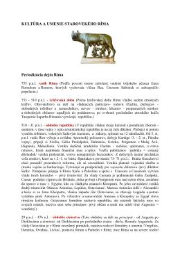 KULTÚRA STAROVEKÉHO RÍMA .pdf