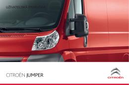 Jumper_VU_užívateľská príručka - Citroen