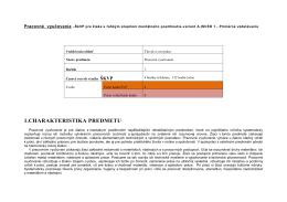 Učebné osnovy-PVC