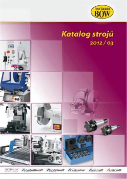 Katalog strojů 2012 / 03