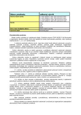 Dodatok k ŠKVP64A-oas-OV