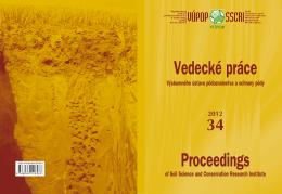 Rok 2012 - Výskumný ústav pôdoznalectva a ochrany pôdy