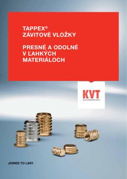 TAPPEX® Závitové vložky | KVT