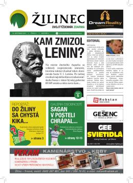 kaM ZMiZol - Noviny Žilinec