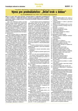 VCELAR_03-2011 Obalka.cdr - SPOLOK VČELÁROV SLOVENSKA