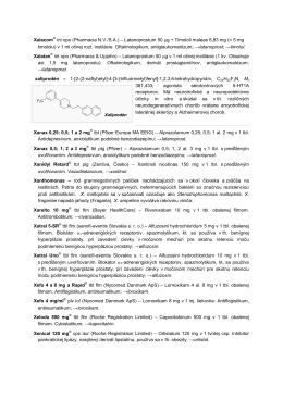 Latanoprostum 50 μg + Timololi maleas 6,83 mg