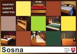 Masívny dubový nábytok