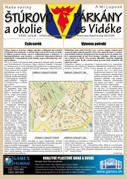 2012/06 - Mesto Štúrovo