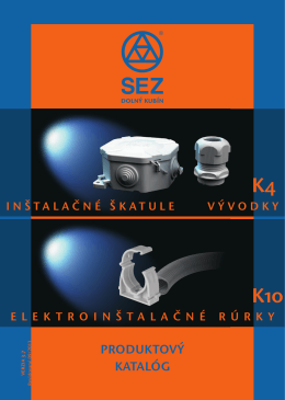 K4/K10 v3-7 SK instalacne skatule a rurky