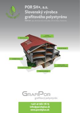 produktový list GrafiPor