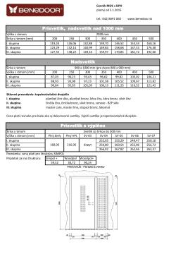 cenník 5 - interdoor.sk
