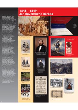 1848 - 1849 Jar slovenského národa