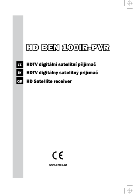 HD BEN 100IR-PVR - levneELEKTRO.cz