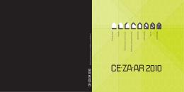 CE.ZA.AR 2010 - CE∙ZA∙AR 2014