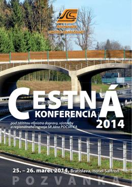 KONFERENCIA - Slovenská cestná spoločnosť