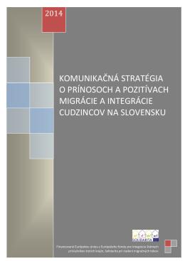 Komunikačná stratégia o prínosoch a pozitívach