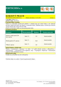 Koksový prach-sk-01-2013