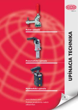 Katalóg DESTACO - Ručné, pneumatické a