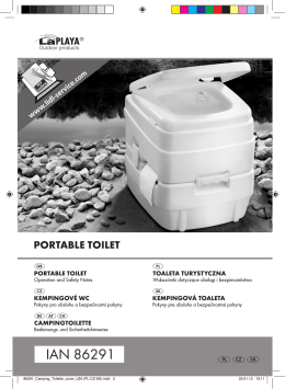 86291_Camping_Toilette_cover_LB4 (PL-CZ-SK).indd - IPV