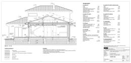 rodinný dom p1 p3 p4 s2 rez b - b ´ m 1:50 s1 skladba