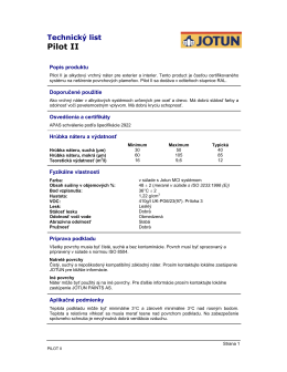 Pilot II - Valor SK