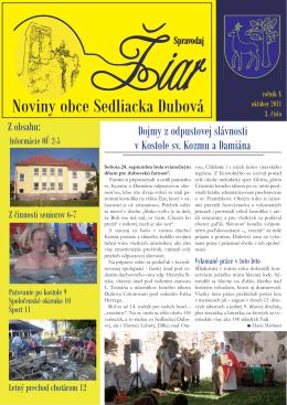 Ziar-10 - Sedliacka Dubová