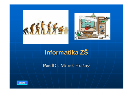 Informatika ZŠ