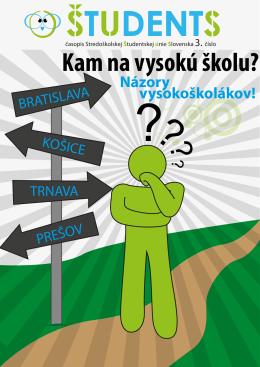 Kam na vysokú školu? - gymnázium partizánske