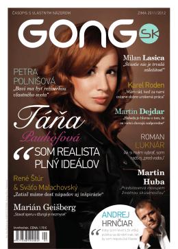 Stiahnuť PDF - Časopis GONG