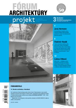 forum 3_14.pdf - Spolok architektov Slovenska