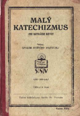 Malý Katechizmus pre katolícke dietky (1934)