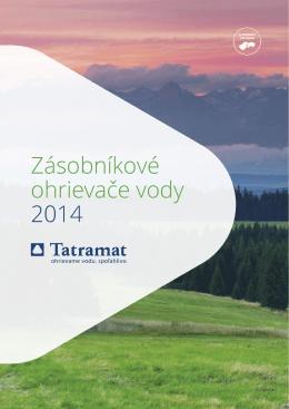Katalóg ohrievačov vody značky Tatramat