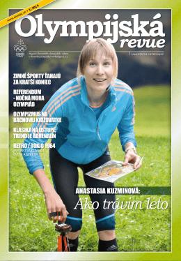 Olympijská revue 1/2014 - Slovenský olympijský výbor