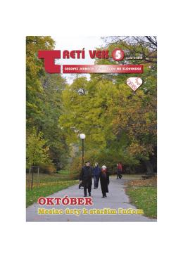 číslo 5 - Jednota dôchodcov na Slovensku