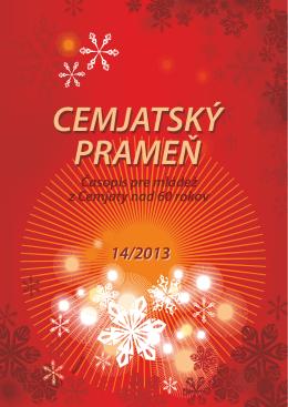 Cemjatský prameň zima 2013 č.14