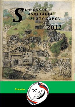 Čítať ročenku  - Slovenská asociácia zlatokopov