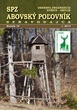SPZ ABOVSKÝ POĽOVNÍK - Okresná organizácia SPZ Košice