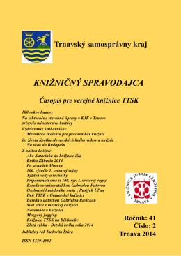 č. 2 - Knižnica Juraja Fándlyho v Trnave