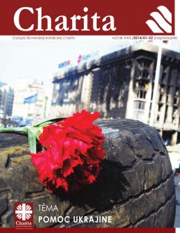 Časopis Charita venovaný pomoci na Ukrajine