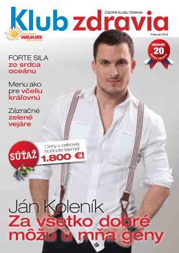 Jar 2012 PDF - Klub zdravia Walmark