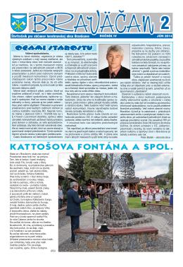 č. 2/2014 - Obec Braväcovo