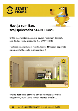Hav, ja som Bau, tvoj sprievodca START HOME