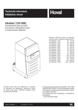 UltraGas® (125-1000)